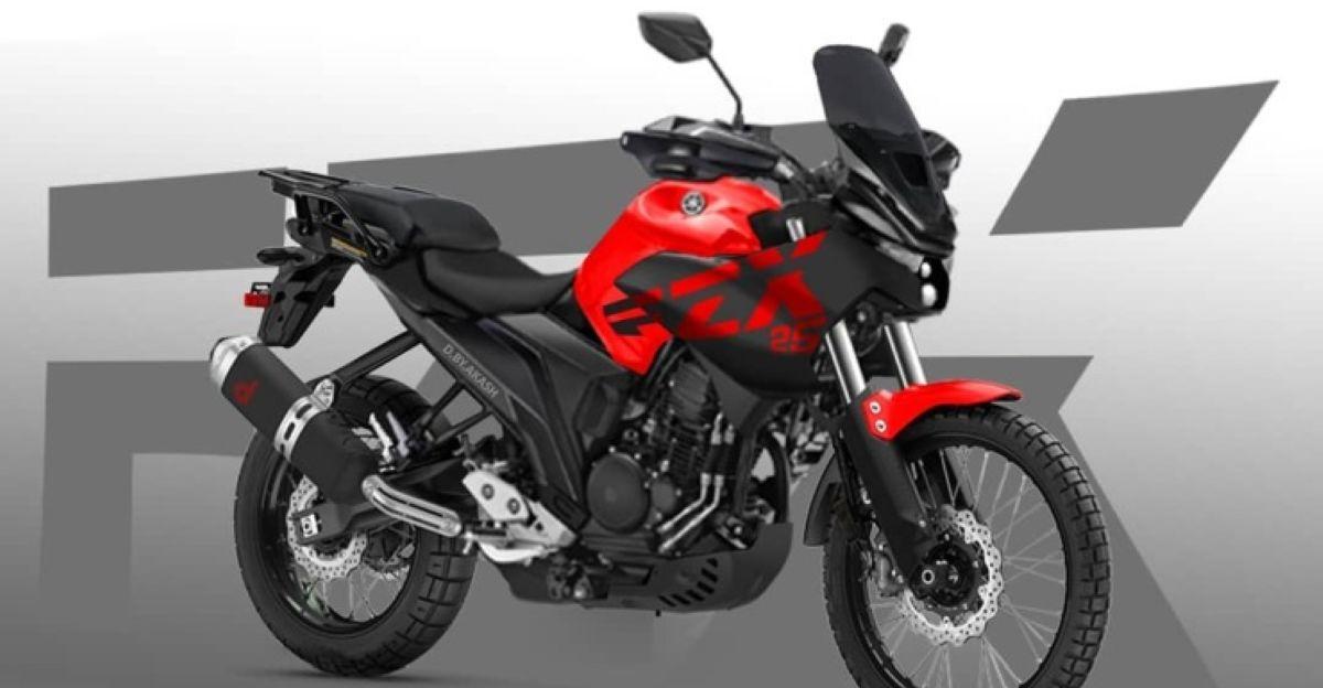 Yamaha FZ-X adventure motorcycle: What it'll look like