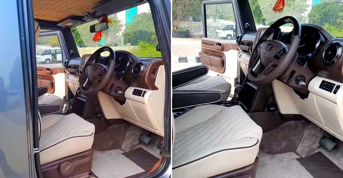 2020 Mahindra Thar with completely revamped interiors: Plush & opulent
