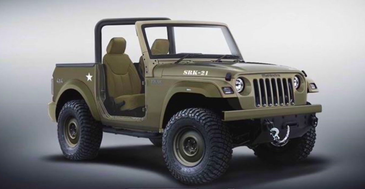2020 Mahindra Thar inspired by a Willys Jeep: What it'll look like