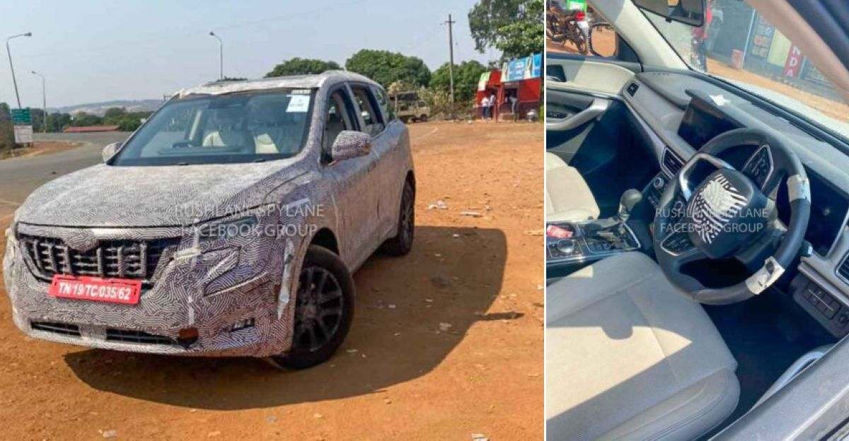 2021 Mahindra XUV500 Diesel Automatic spied ahead of launch