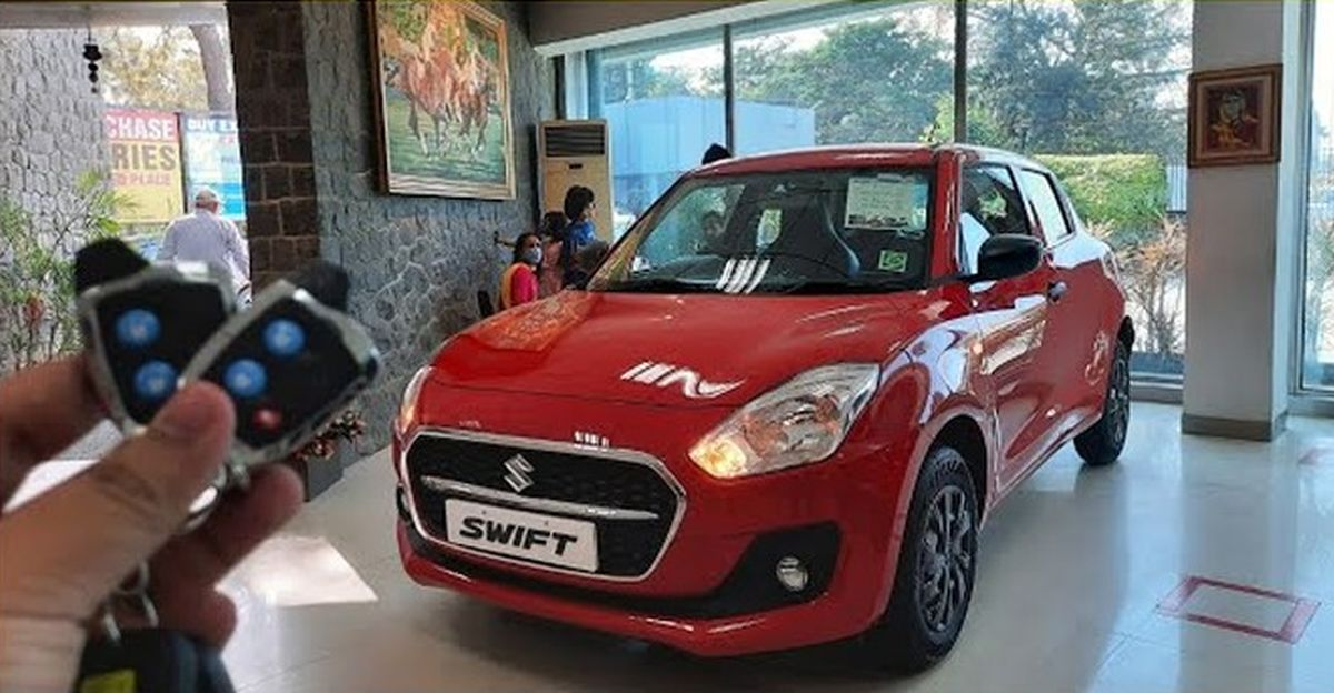 India's first accessorized 2021 Maruti Swift is here