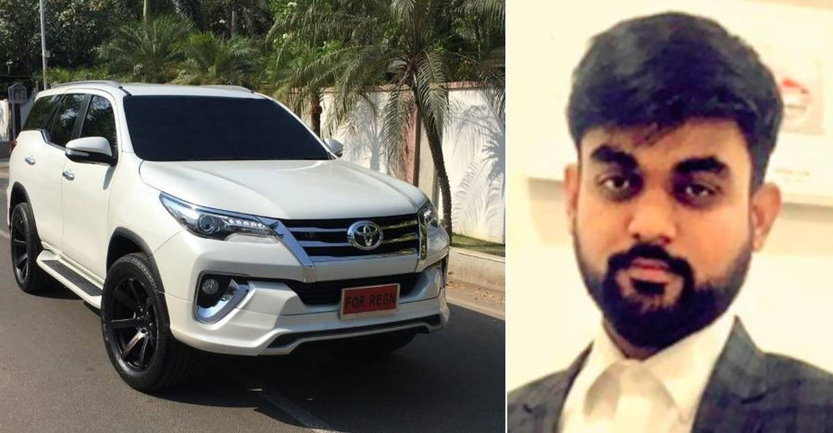 Toyota Fortuner owner who bid for 007 number backs out of Rs. 34 lakh bid, gets number for just Rs. 25,000