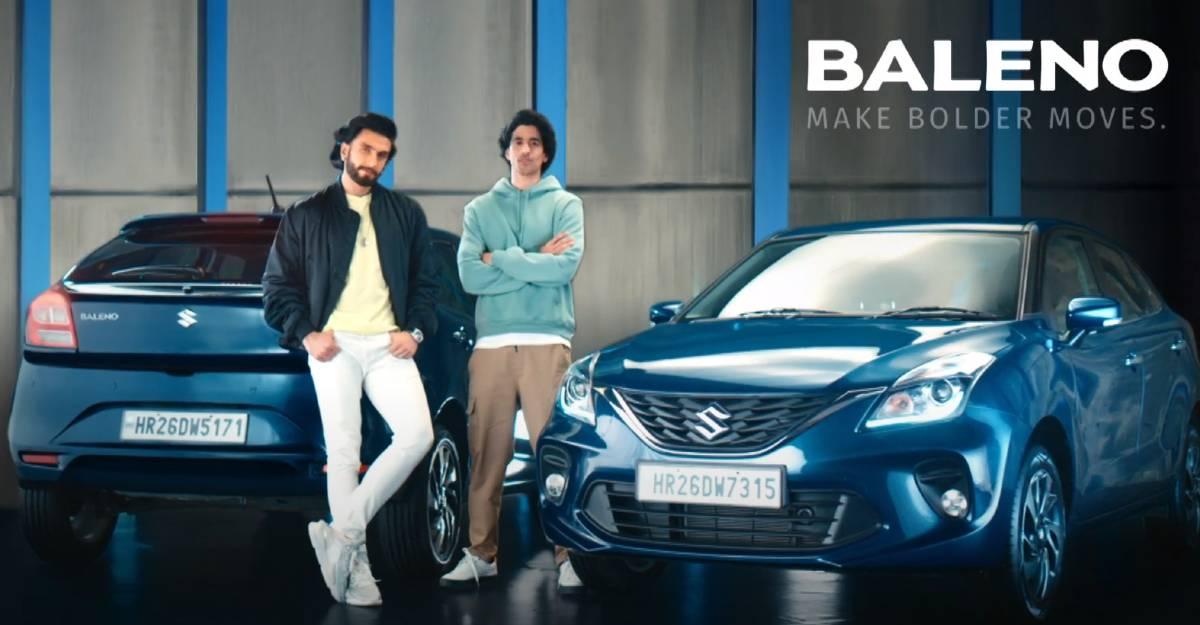 New Maruti Baleno TVC starring Bollywood actor Ranveer Singh