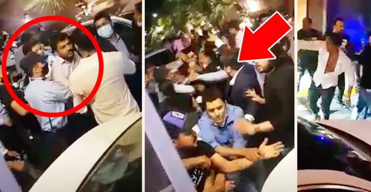 Road rage, fights on camera in Aerocity after luxury cars brush against each other [Video]
