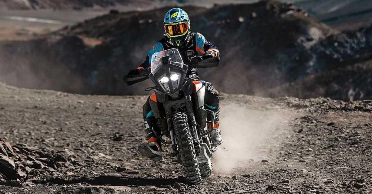 Ashish Raorane on KTM 390 Adventure sets world's highest hill climb record [Video]
