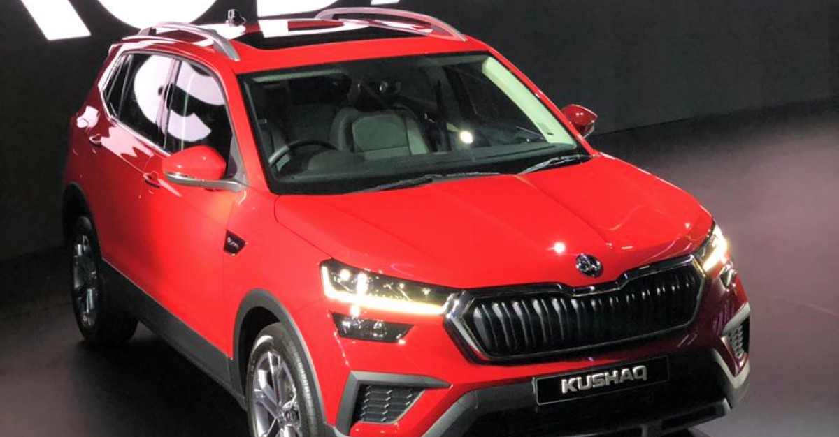 Skoda Kushaq compact SUV unveiled officially, launch soon