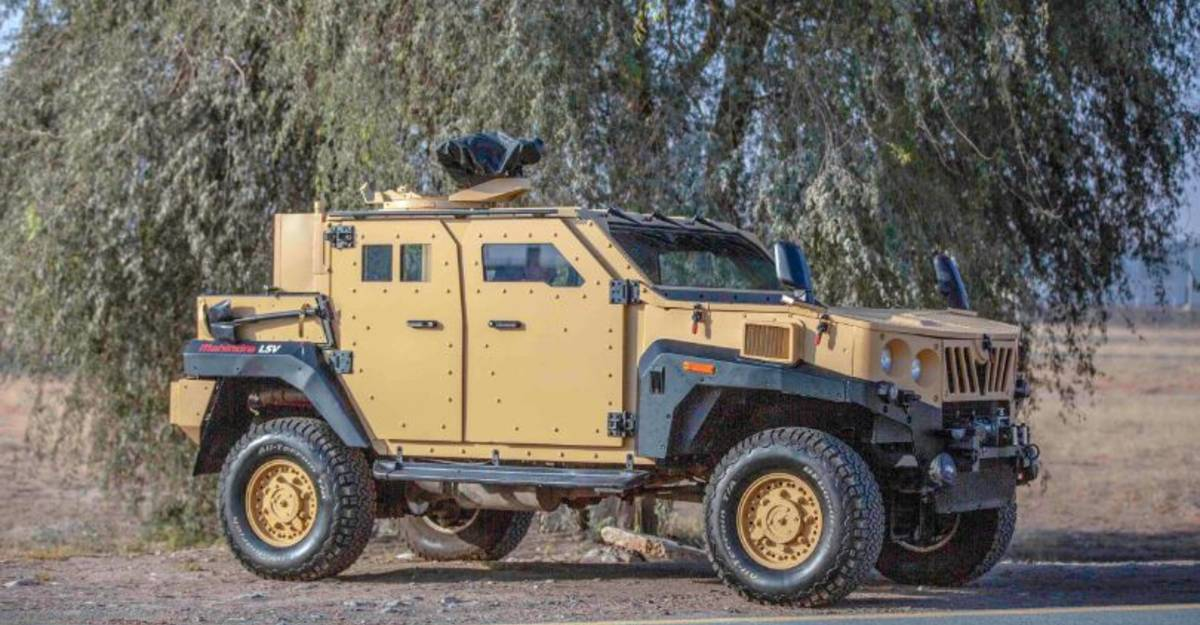 Mahindra wins order to supply armored trucks to Indian army