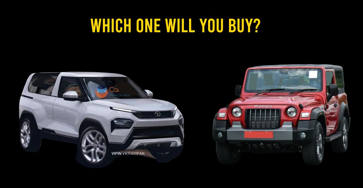 New Mahindra Thar vs Concept Sierra (If it were real!): What's your pick?
