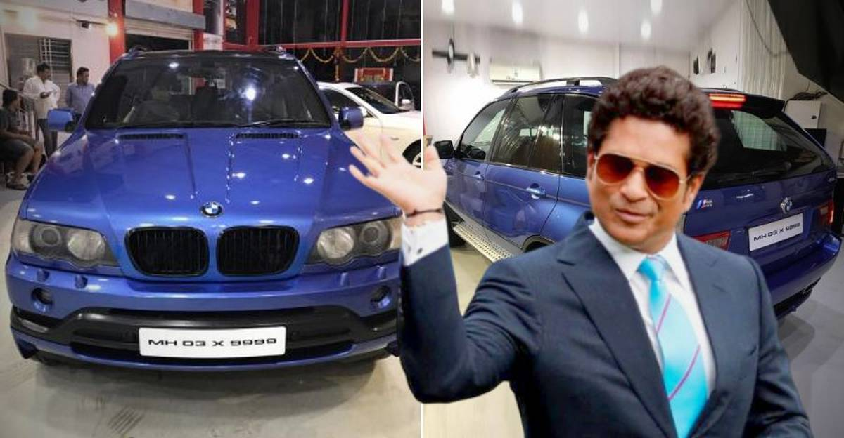India's only BMW X5M that belonged to Sachin Tendulkar is back on sale