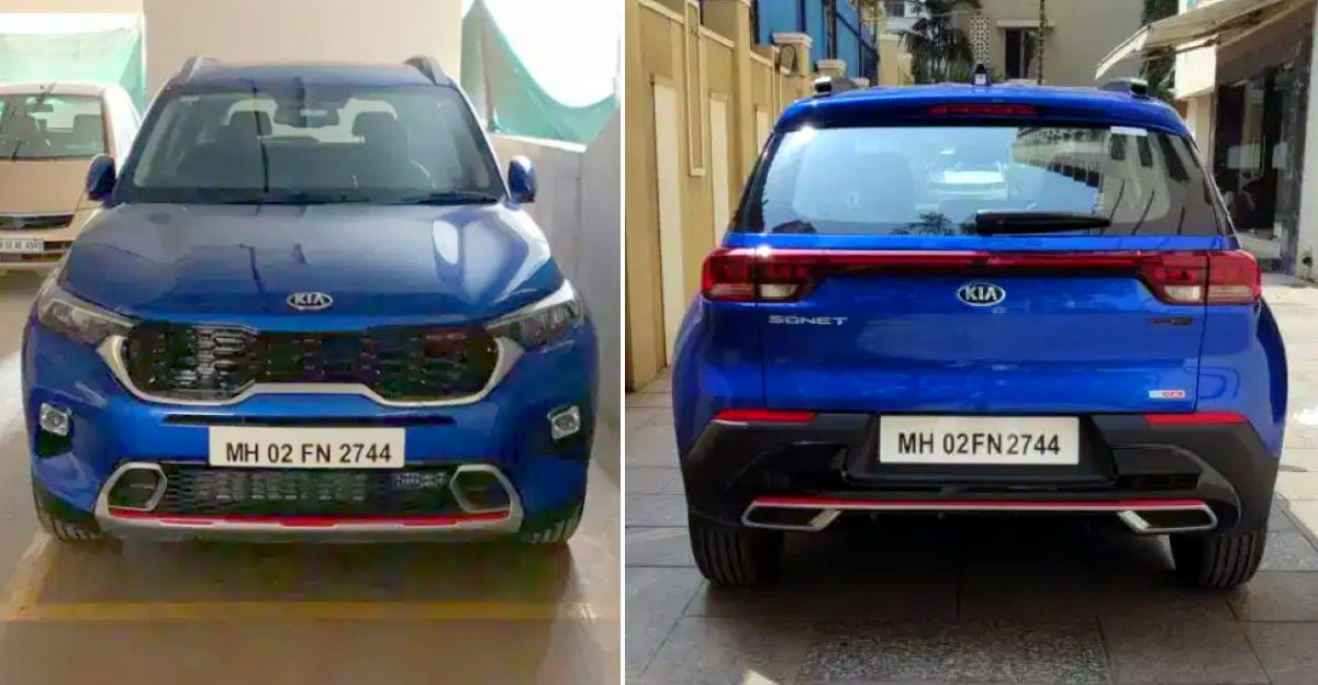 3 almost-new Kia Sonet Compact-SUVs for sale