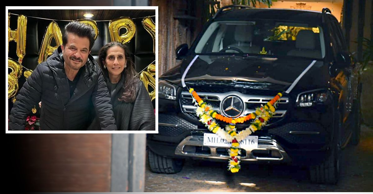 Anil Kapoor gifts wife Rs. 1 crore Mercedes-Benz GLS SUV on her birthday