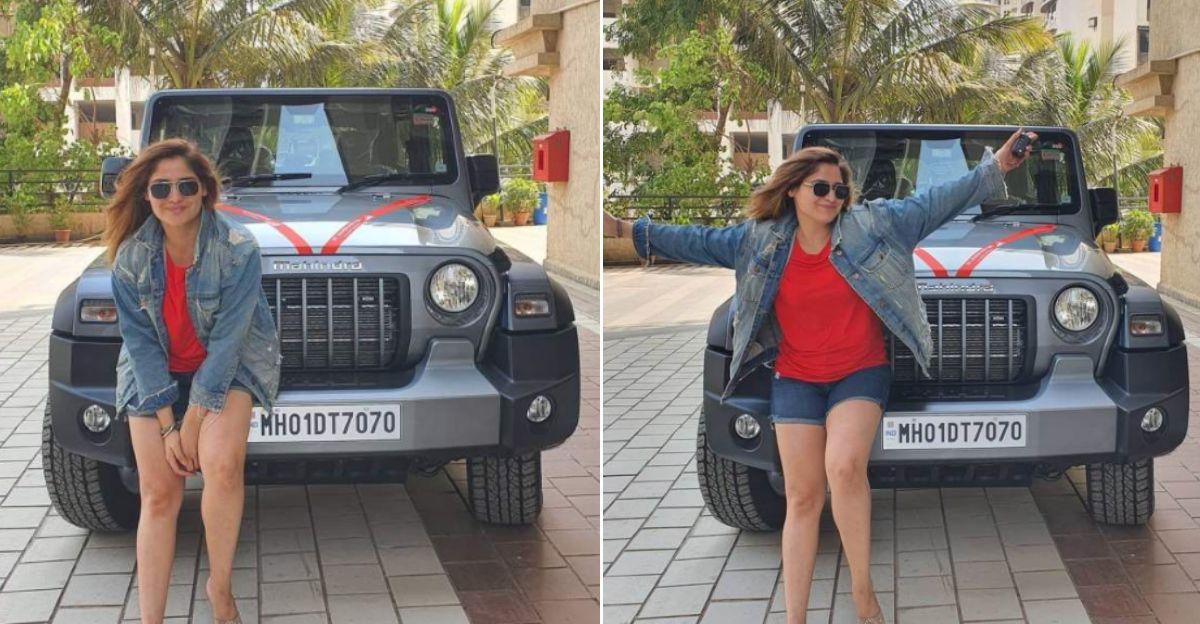 Big Boss finalist Arti Singh buys a Mahindra Thar: Brother Krushna Abhishek applauds