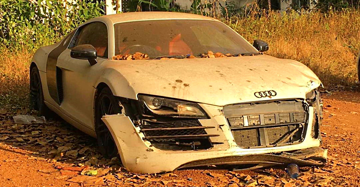 5 abandoned exotic cars & SUVs: Audi R8 supercar to Mercedes S-Class luxury saloon
