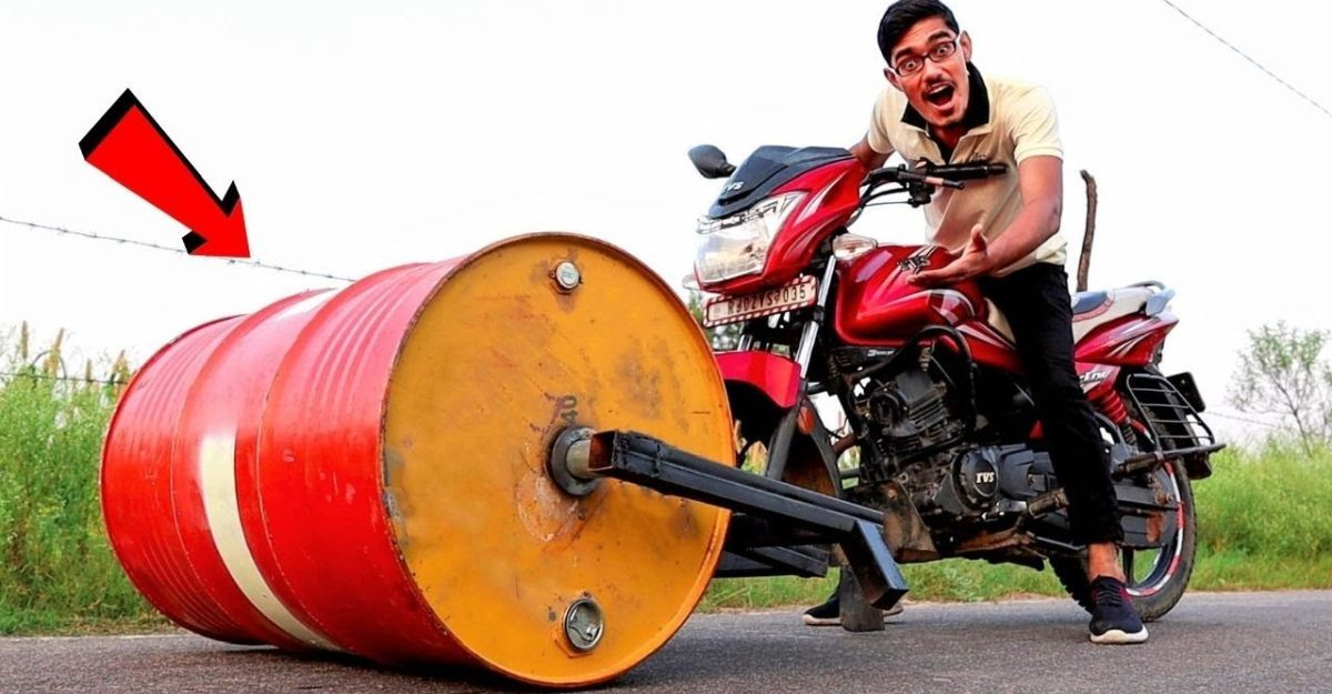 Here is India's first 'Roadroller bike'