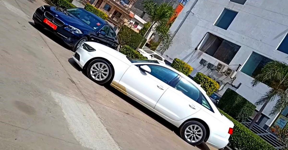 Luxurious, well kept BMW & Audi sedans selling cheaper than a Honda City