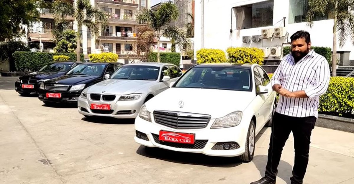 Well maintained BMW & Mercedes luxury sedans selling for under Rs 10 lakh