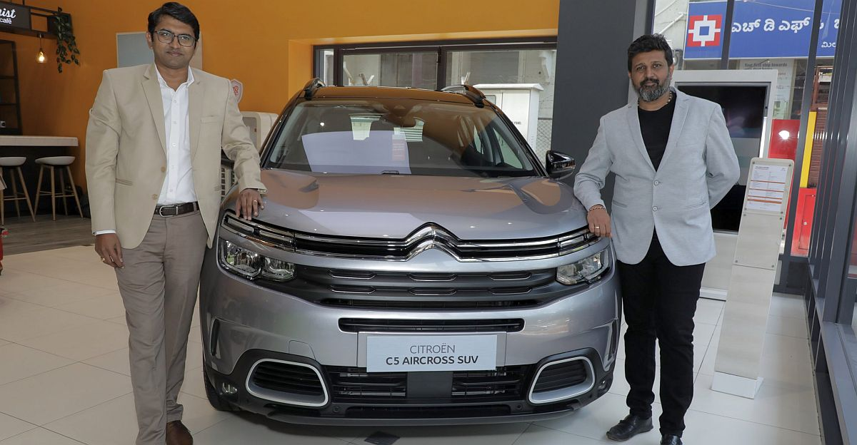 Citroen C5 AirCross SUV launched: Prices start from Rs. 29.9 lakhs ex-showroom