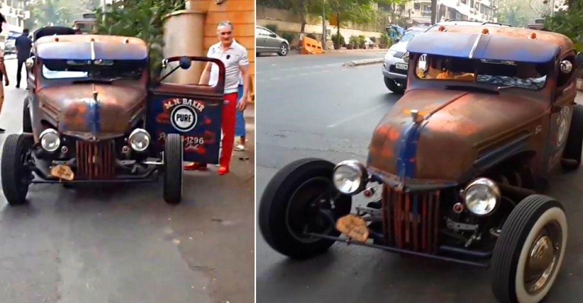 Billionaire Gautam Singhania's super rare exotic cars on video: Ford HotRod to Ferrari GTB