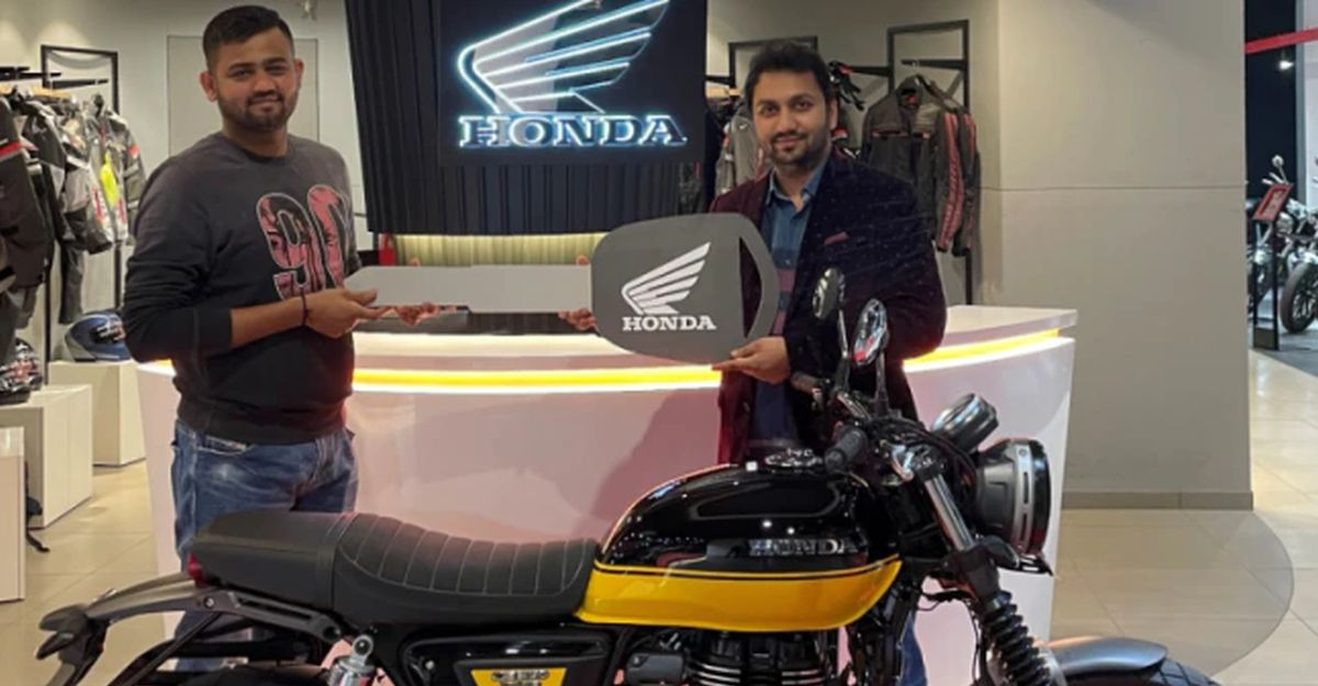 Honda 2-wheelers starts delivering 2021 CB 350 RS in India