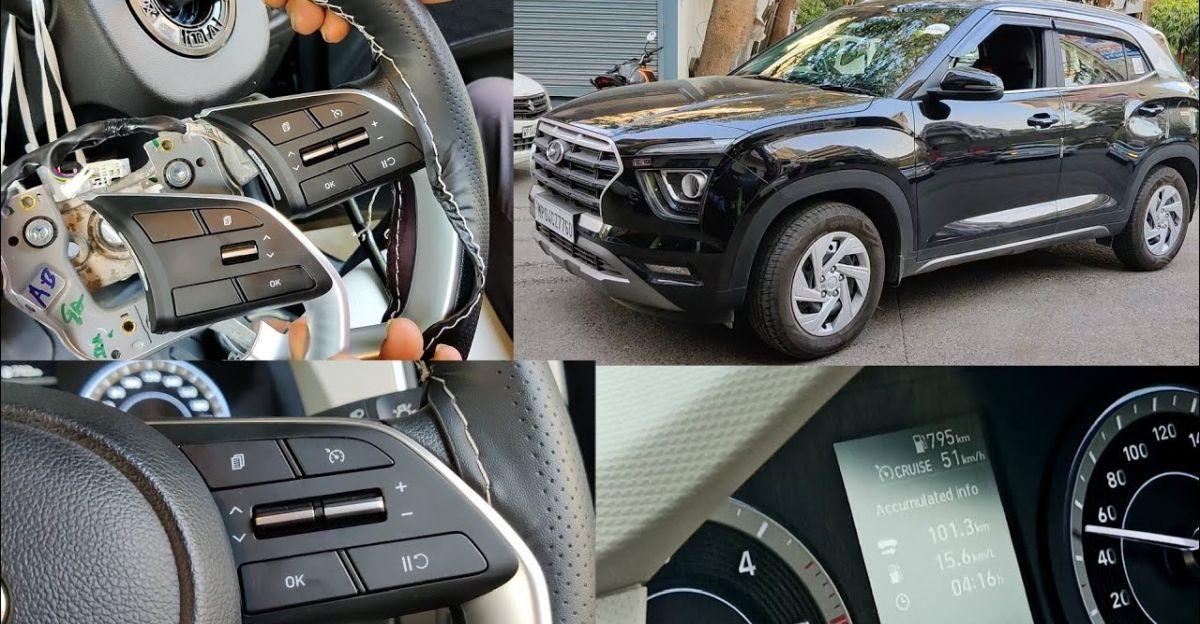 All-new Hyundai Creta E trim gets a cruise control fitted aftermarket [Video]