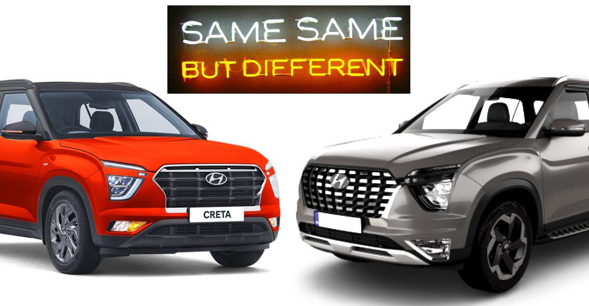 Hyundai Alcazar vs 2020 Creta: 7 key changes explained