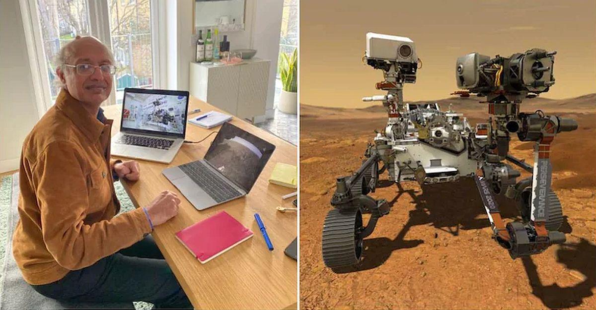 Indian origin man driving NASA rover from rented flat in London