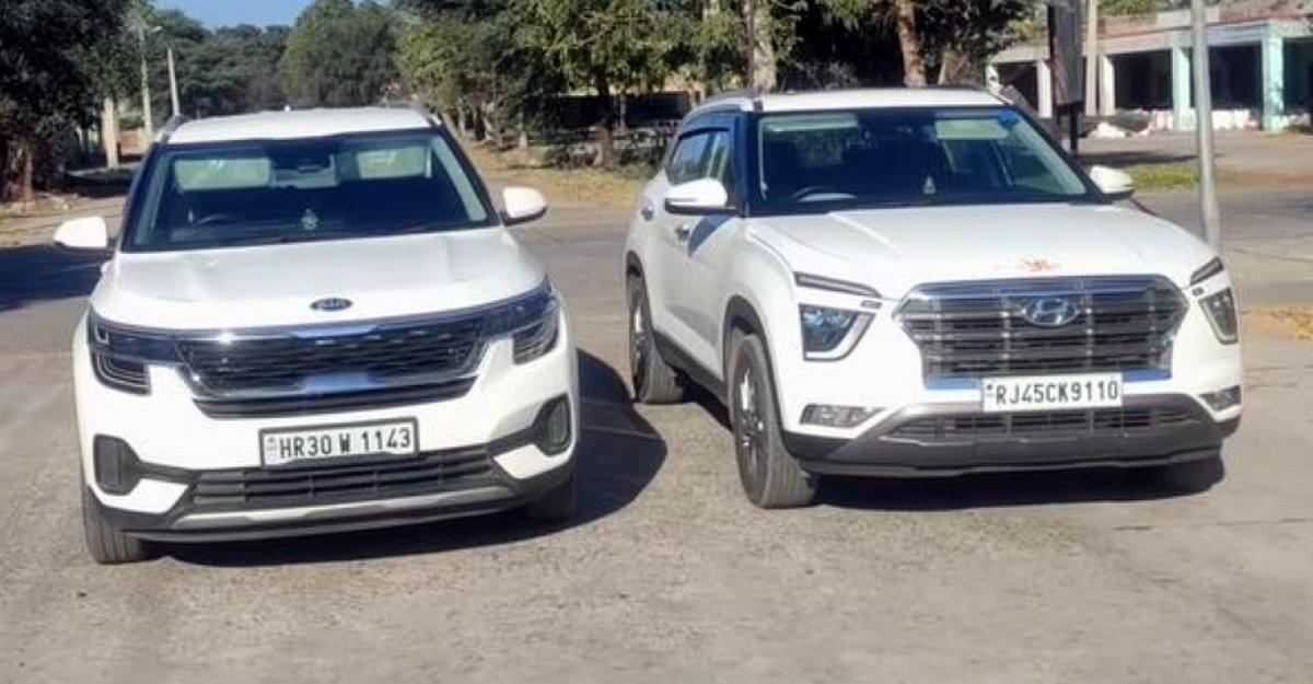 All-new Hyundai Creta diesel takes on the Kia Seltos diesel in a drag race