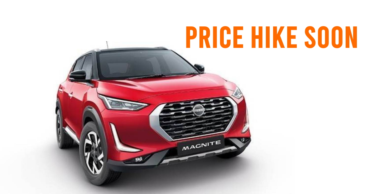Nissan announces prices hike of Magnite and line-up, production increased