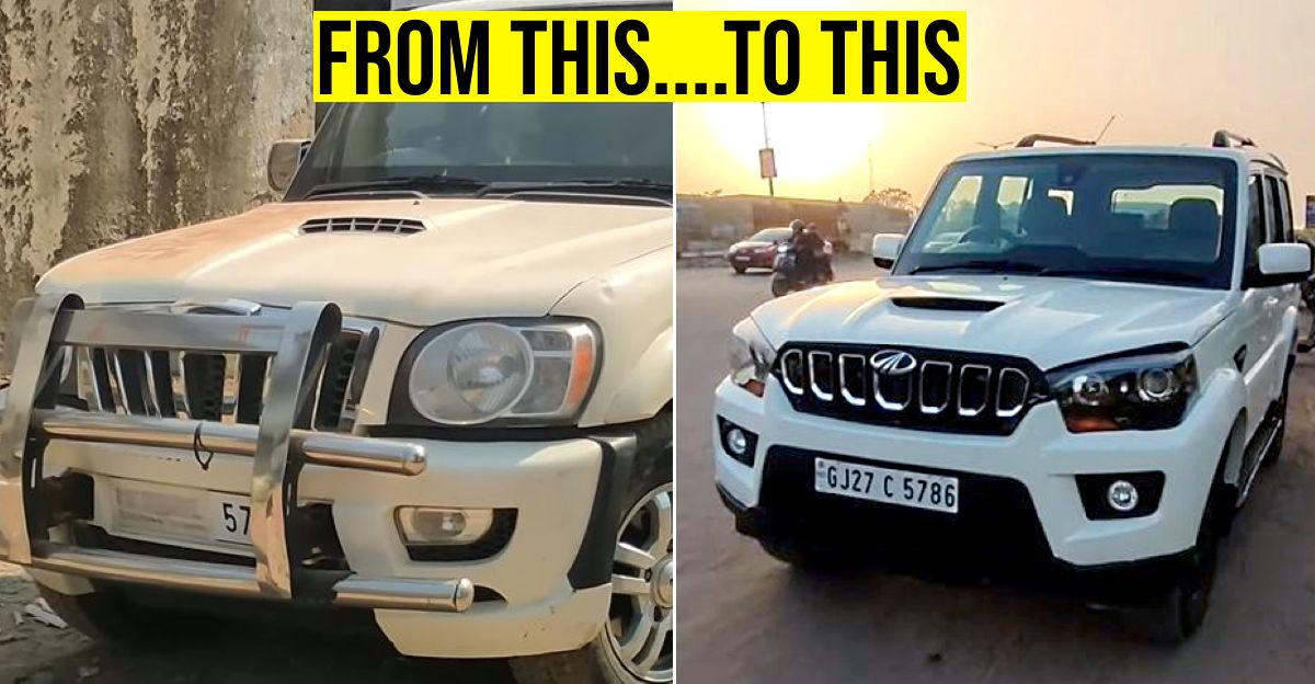 Old  Mahindra Scorpio converted to latest Scorpio for just Rs. 1.5 lakh