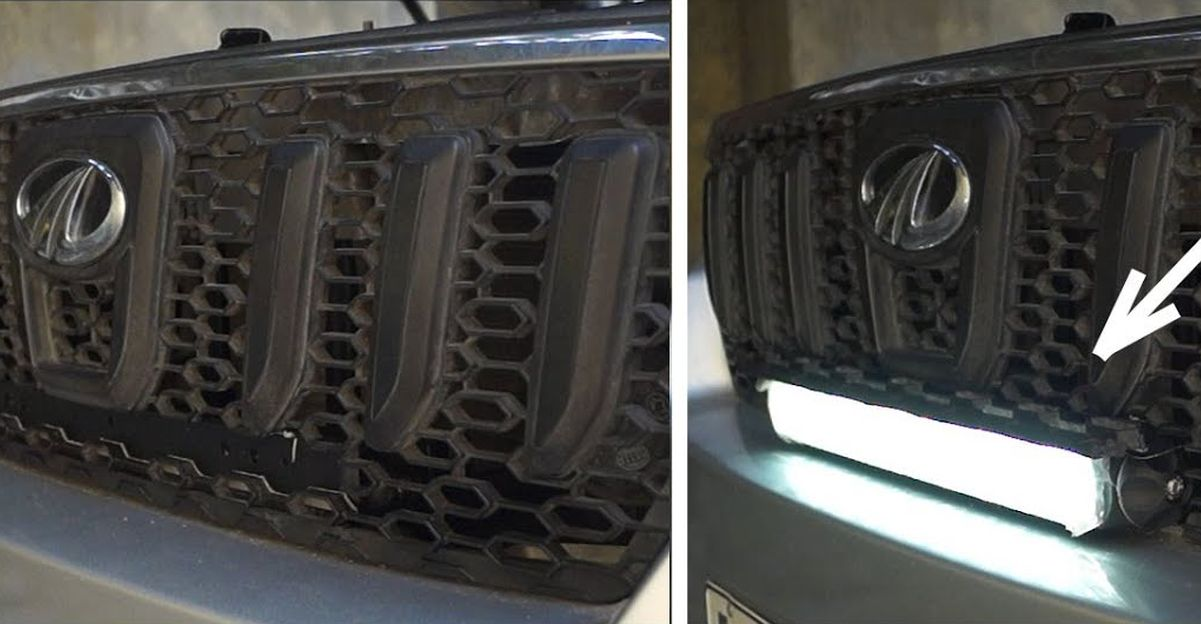 Mahindra Scorpio pop-out LED bar: How it is installed [Video]