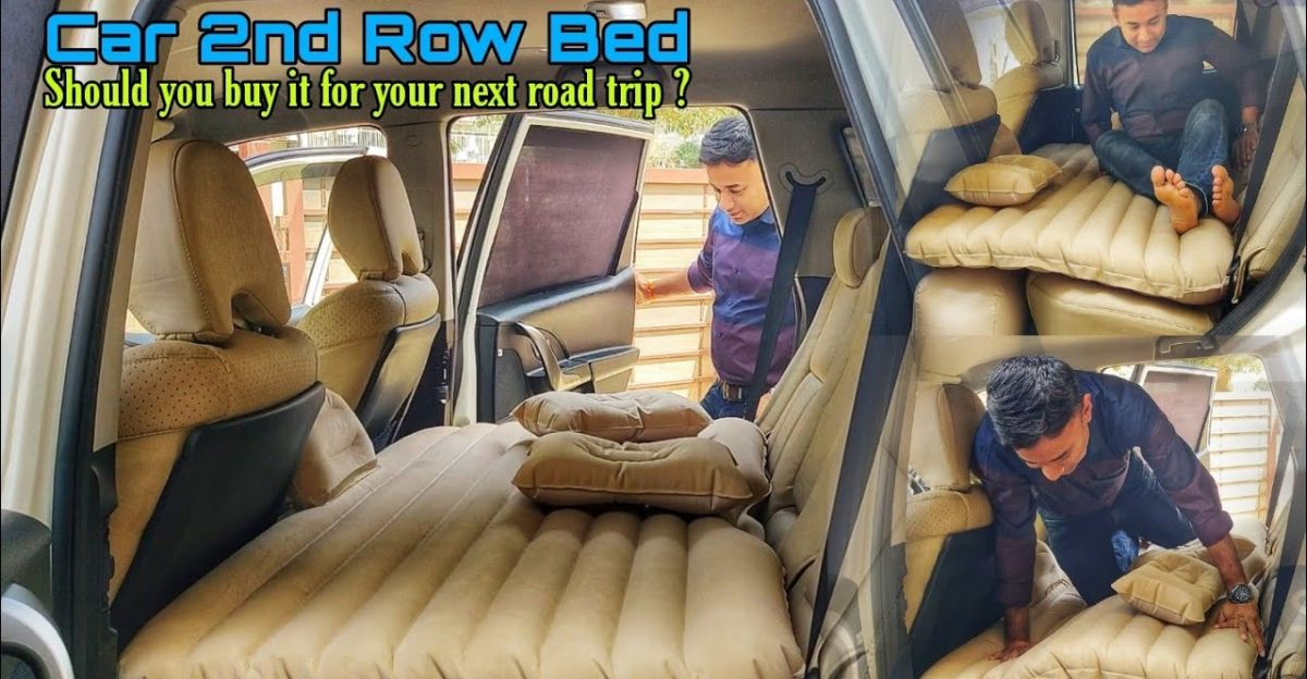Can this inflatable bed turn rear seat of Mahindra XUV500 into a bed?