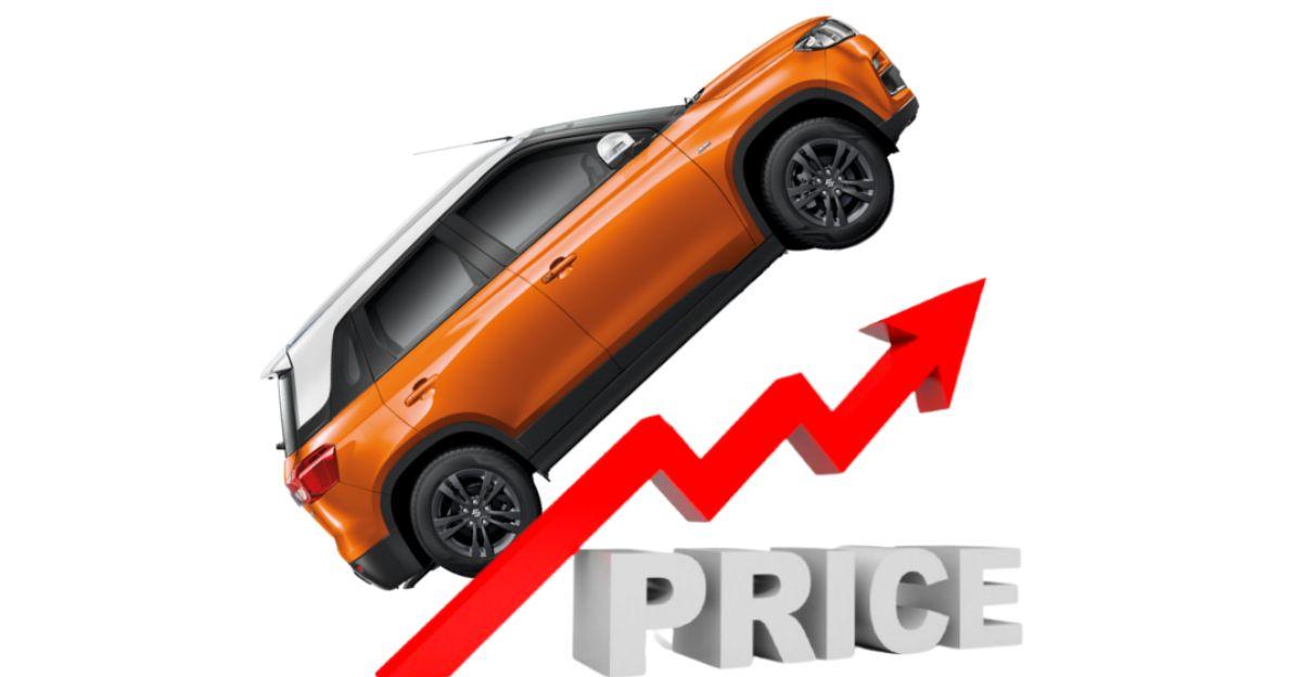 Maruti Suzuki to hike car & SUV prices from April 2021