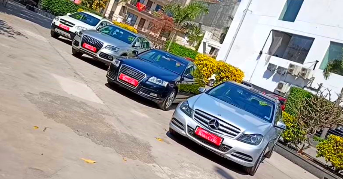 Mercedes-Benz & Audi luxury cars selling at compact sedan prices