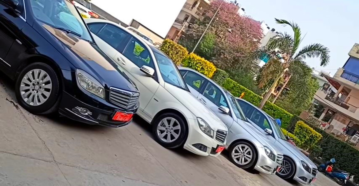 Well maintained, Mercedes-Benz C-Class luxury sedans selling cheaper than compact sedans
