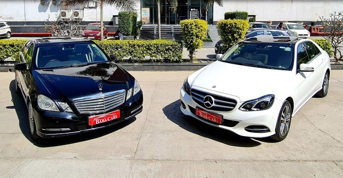 Pre-Owned Mercedes-Benz E-Class luxury sedans starting at just Rs 9.95 lakh