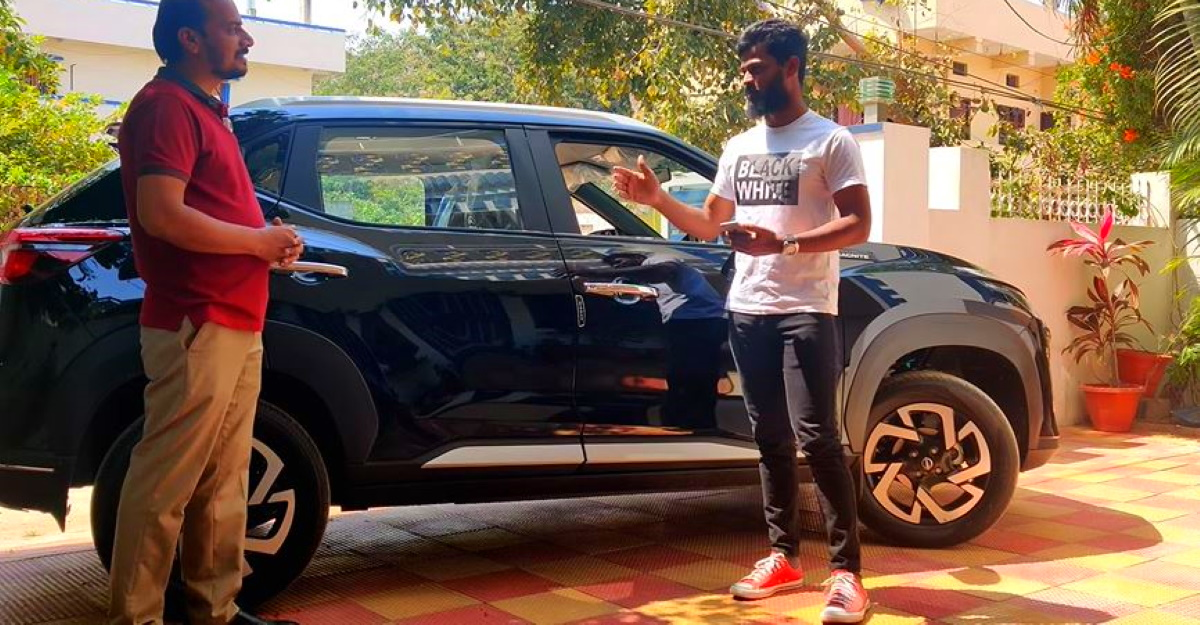 Owner of Nissan Magnite explains why he bought Magnite over Kia Sonet