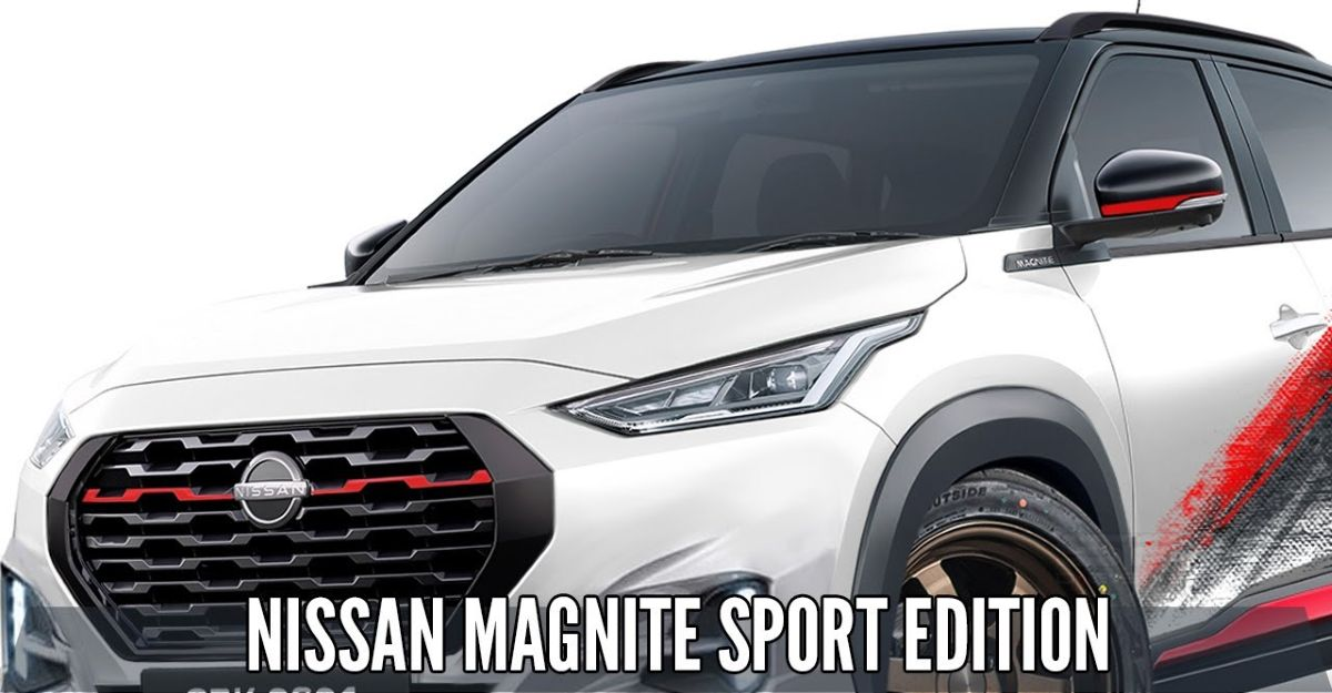 Nissan Magnite Sport Edition: What it'll look like