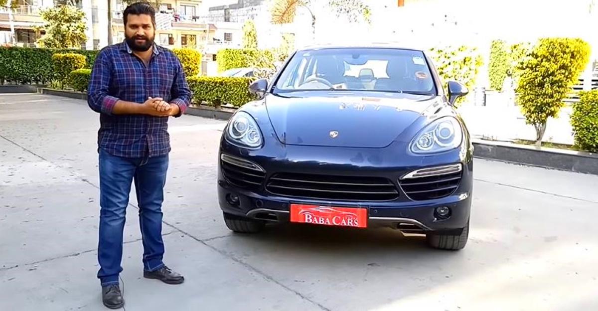 High performance Porsche Cayenne luxury SUV selling cheaper than new Tata Safari