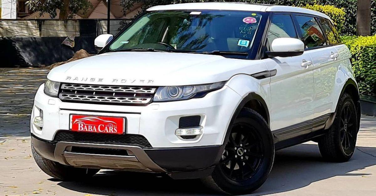 Pre-owned Range Rover Evoque luxury SUV selling cheaper than a Hyundai Creta