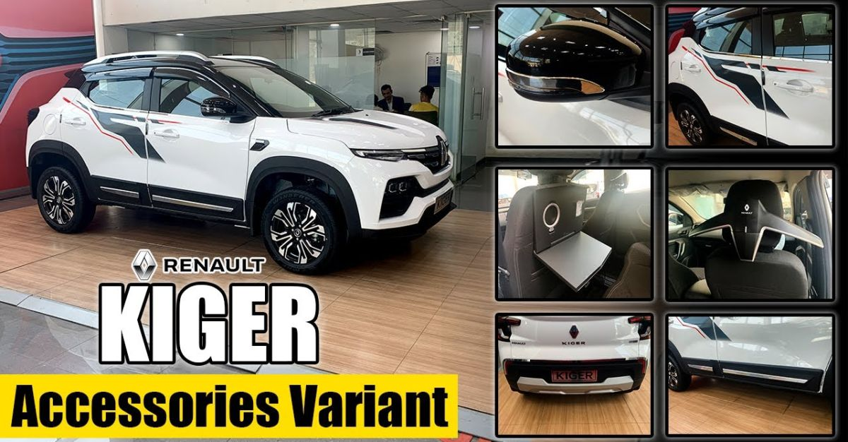 Renault Kiger with executive accessory pack: What it offers