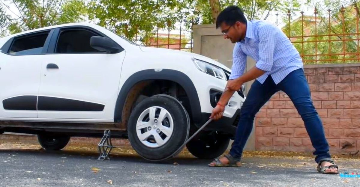 Emergency method to start your car in case the self-start fails