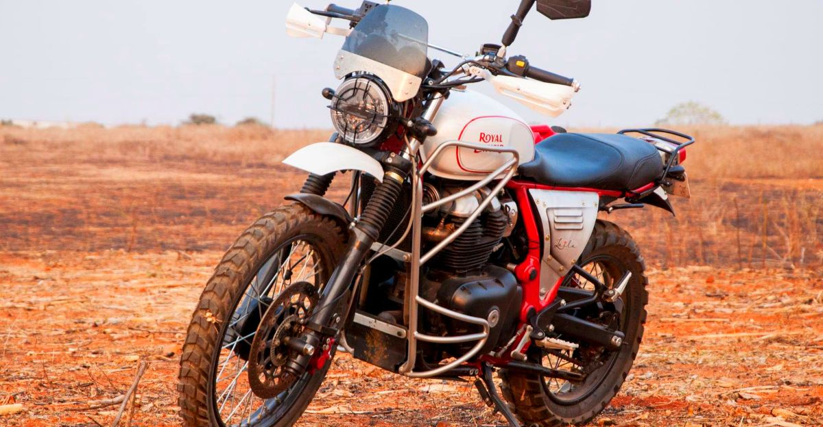 This Royal Enfield Interceptor 650 is a Himalayan in disguise