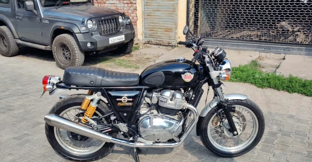 This modified Royal Enfield Interceptor 650 is quicker than a Triumph Street twin