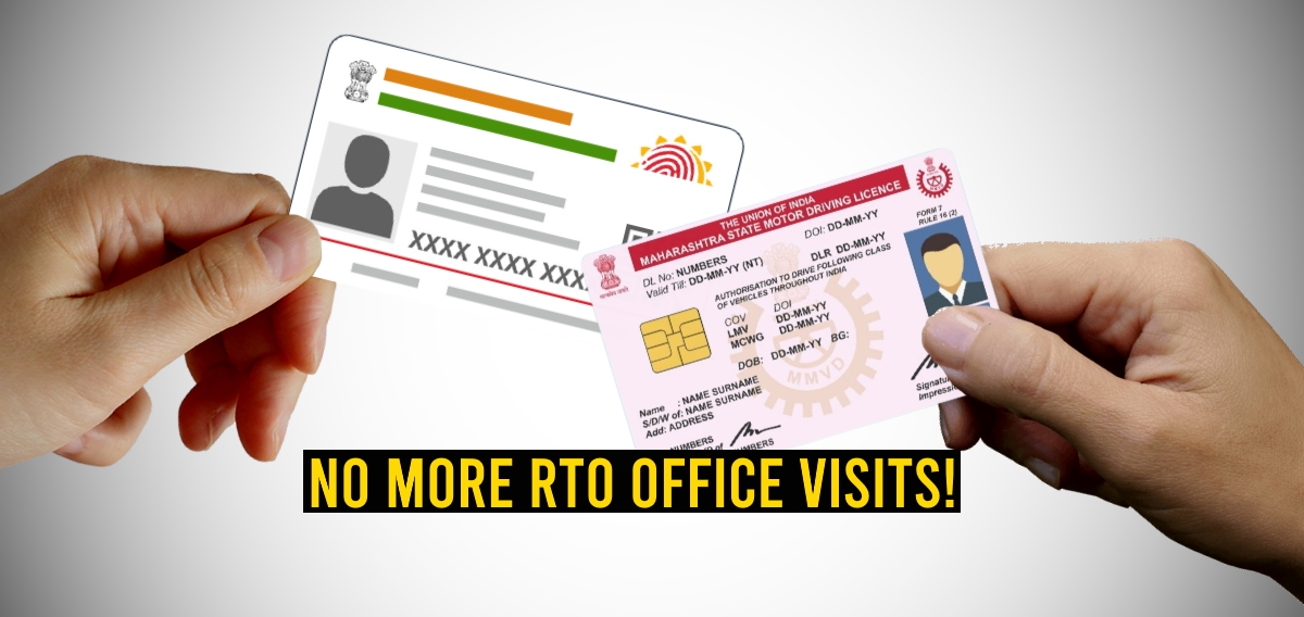 No need to visit RTO for renewal of driving license, RC & 17 other services: Govt