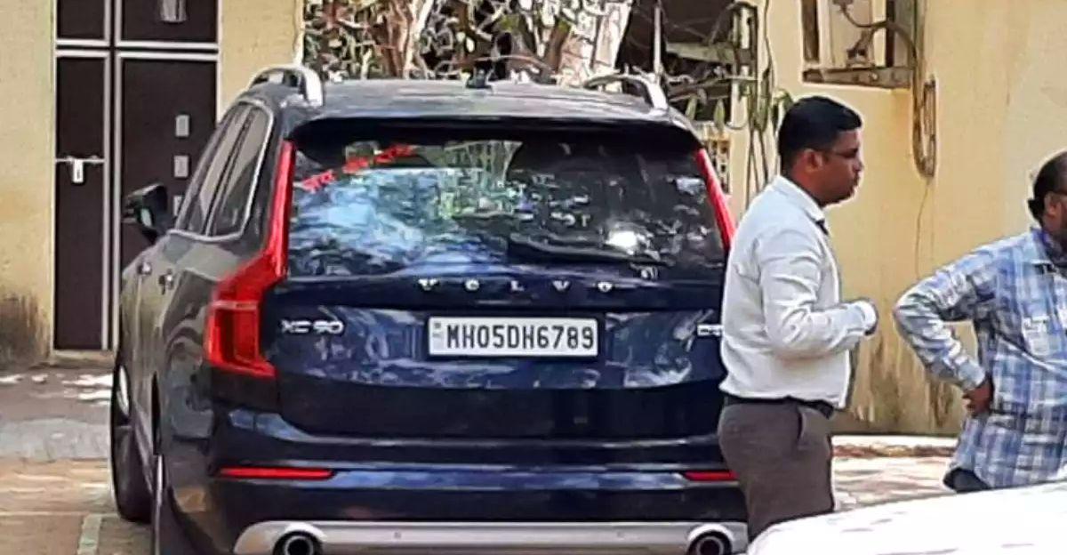 Maharashtra Anti-Terrorism Squad seizes Volvo XC90 SUV linked to Sachin Vaze case