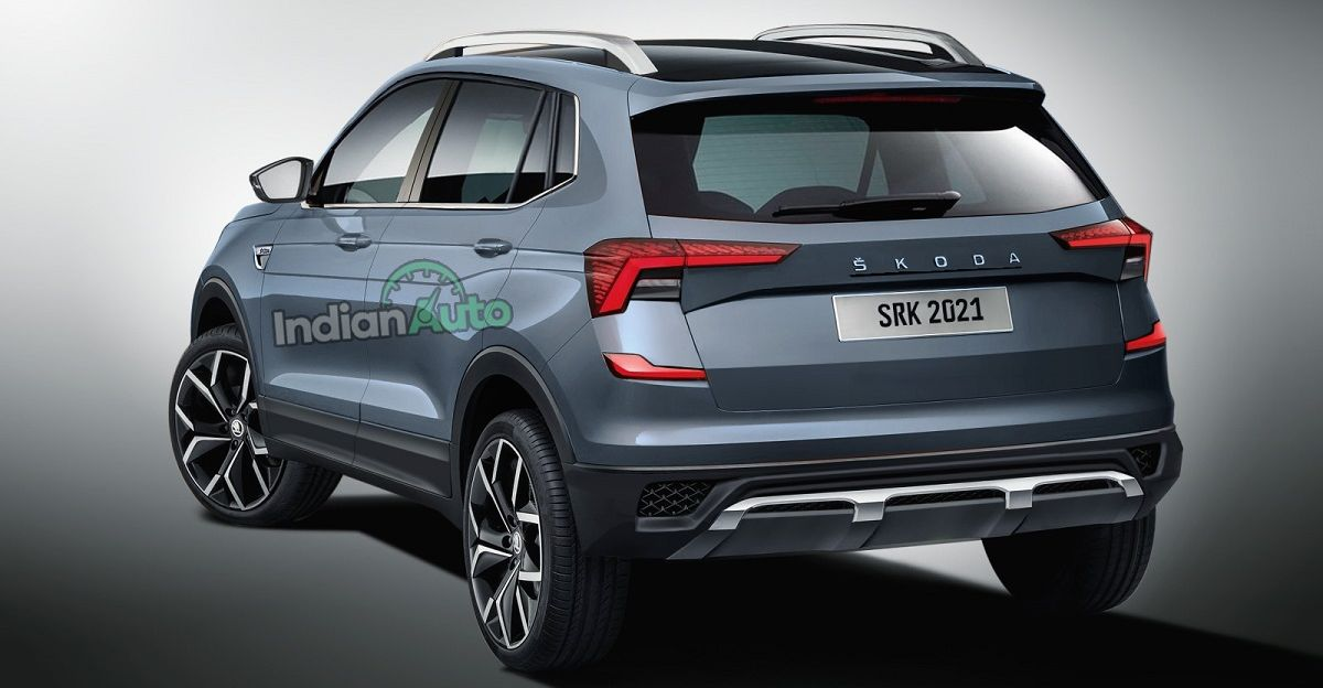 Skoda Kushaq compact SUV launches today: What it'll look like from the front & rear