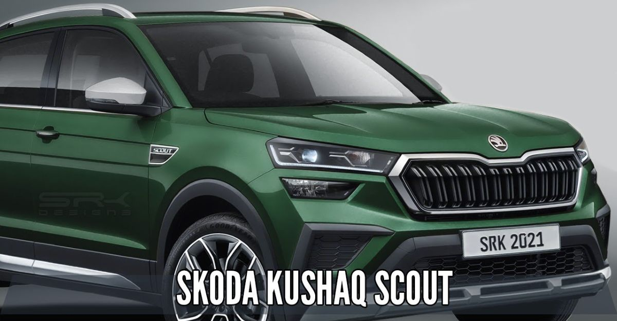 Skoda Kushaq Scout: What the off-road ready version of the SUV will look like