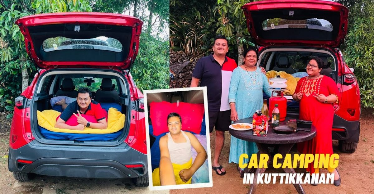 Spending a night in Tata Harrier: How it is done
