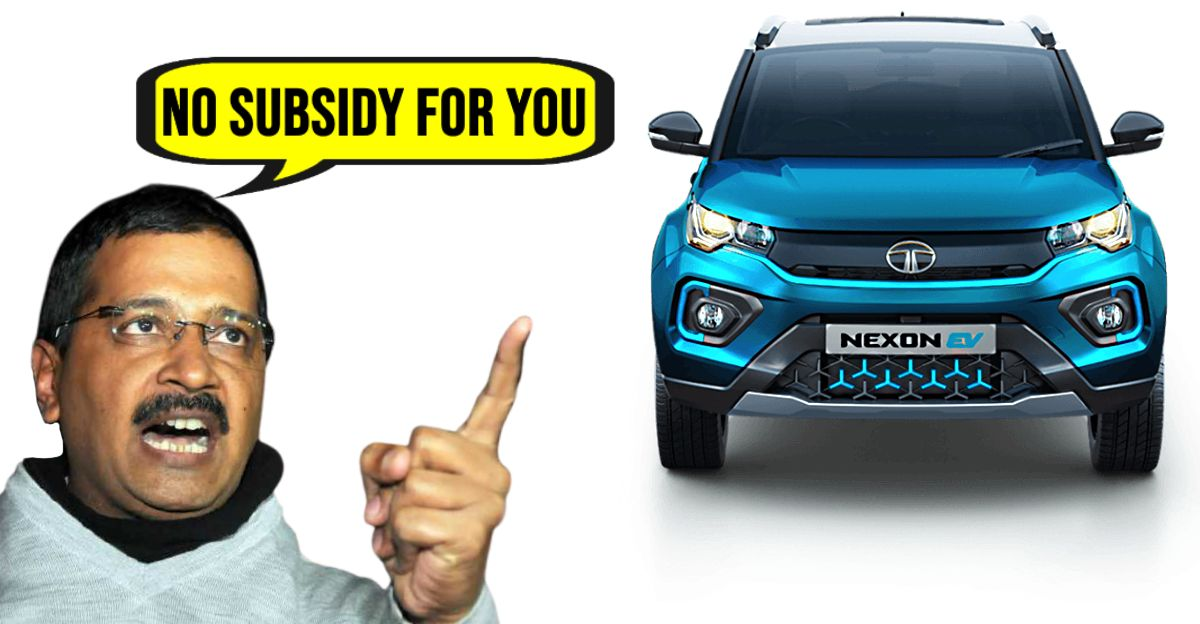 Subsidy on Tata Nexon EV cancelled by Delhi Government for 'sub-standard range'