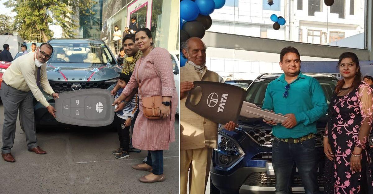 Tata Motors delivers 100 units of the all-new Safari in a single day in Delhi NCR